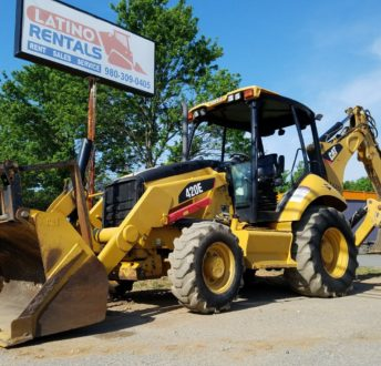 Backhoe for Rent in Charlotte by Latino Rentals