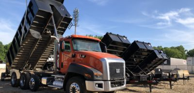 Gravel Delivery Service in Charlotte Area by Latino Rentals