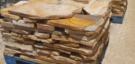 Brown Variegated Flagstone for Sale in Charlotte by Latino Rentals